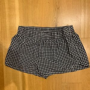 Gap Fit Gingham Athletic Shorts